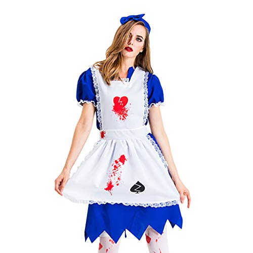 Best Price Kiminana Ladies Halloween Cosplay Nurse Skirt Dress Maid Nun Maid Dress Rish Over Long Dr...