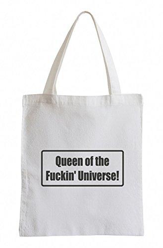 J.Roxx Regina del Fuckin 'Universo! Divertimento sacchetto di iuta