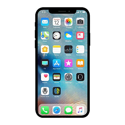 Apple iPhone X, 64GB, Silver - For AT&T (Renewed) -  a1901