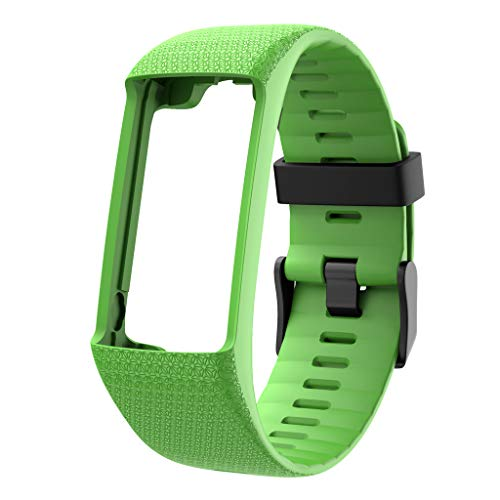 TeaBoy Band Compatible with Polar A370 A360, Soft Sport Silicone Replacement Wristband Strap Band Compatible with Polar A370 A360 Fitness Smartwatch, Women Men