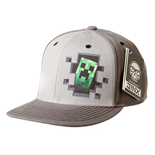 Minecraft Creeper Inside Snapback Gorra