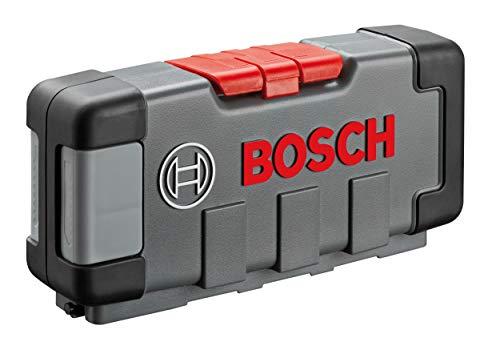 Bosch Professional Set Tough Box con 30 hojas de sierra de calar Basic for Wood...