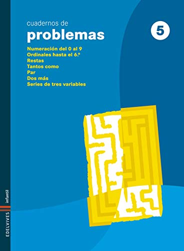 Cuaderno 5 de Problemas (Infantil)