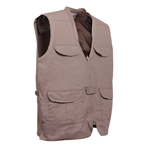 Rothco Lightweight Professional Concealed Carry Vest (Khaki, Large)