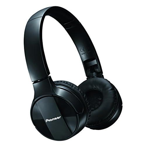 Pioneer SE-MJ553BT Cuffie Wireless con connessione Bluetooth, Nero