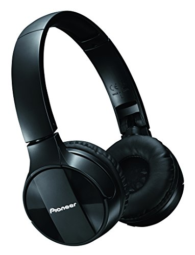 Pioneer SE-MJ553BT Bluetooth On-Ear-Kopfhörer (faltbar, Headset & Mic für Android, Windows und Apple Smartphones, lange 15 Stunden Akkulaufzeit) Schwarz