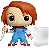 Funko Pop! Horror Movies: Childs Play 2 - Chucky Vinyl Figure (Includes Compatible Pop Box Protector Case)