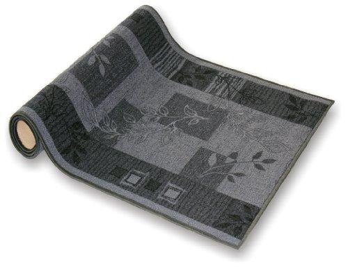 der Meisterei Teppichläufer Flur Läufer Brücke Teppich Agadir Akzent grau Meterware rutschfest 80 cm breit 80 x 250 cm Sale in 44 Größen