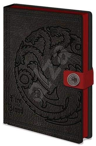 Game of Thrones Targaryen Premium-Notizbuch, A5