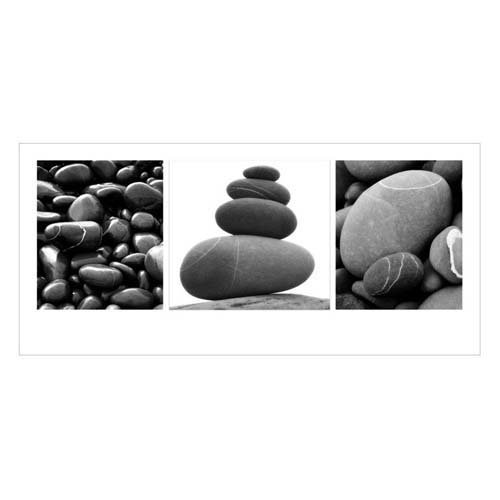 Naturposter - Poster Stones Triptych