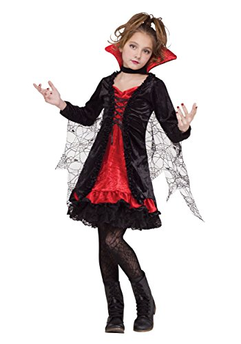 Fun World Vampire Girl Child Costume Large (12-14) Black,red - http://coolthings.us