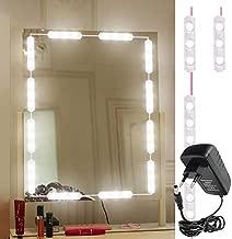 Citra Mirror Light Kit Hollywood Style 10 Feet Vanity Make-up Light DIY LED Light Kits Dressing Mirror Light Kit Mirror Lamp Kit for Cosmetic Makeup Vanity, 60LEDs Light - Warm White