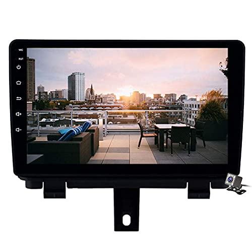 FDGBCF Android 8.1 Car Navigation Stereo per Audi Q3 2013-2017 con Quad Core Car Entertainment Multimedia/FM AM Radio WiFi/BT Tethering Supporto Internet SD USB ECC