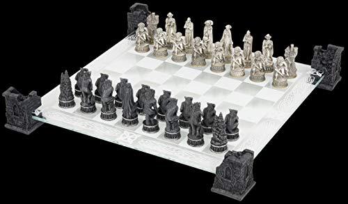 Nemesis Now vampiro e licantropo scacchi set
