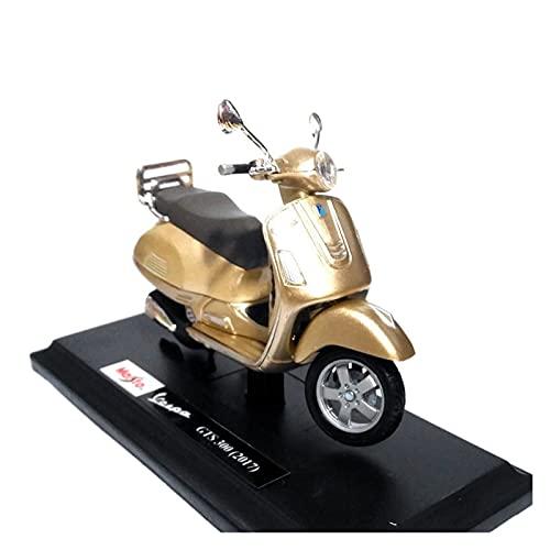 El Maquetas Coche Motocross Fantastico 1:18 para Vespa 1968GTR Una Variedad Aleación Pedal Simulación Modelo Motocicleta Adornos Colección Regalo Coche Juguete Regalos Juegos Mas Vendidos