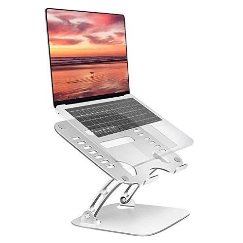 HYE Soporte Elevador para computadora portátil en ángulo de Altura Ajustable, Elevador para computadora Elevador para computadora portátil con aleación de Aluminio para Trabajar Desde casa