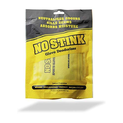 No Stink - Desodorante para Guantes Deportivos, Talla única, Color Amarillo