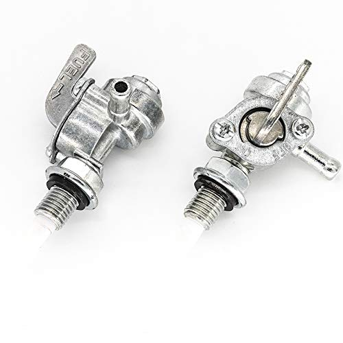 2 unidades de grifo de gasolina, interruptor de encendido/apagado para válvula de cierre de gasolina, M10, 2-3 kW grifo de gasolina