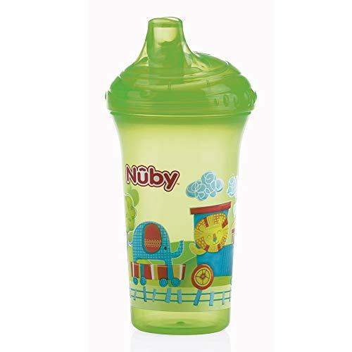 Nûby ID10366GREEN auslaufsicherer Trinkbecher, 270 ml, grün