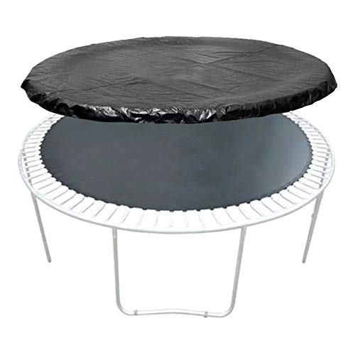 YYLL 14 Inch Trampoline Cover Round Protection Edge Protector Round Frame Pad Trampoline Accessories for Garden Outdoors (Color : Black)
