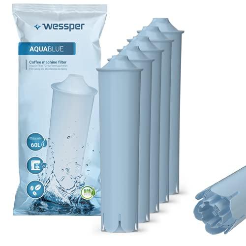 Wessper Wasserfilter für Jura Claris Blue, Filterpatrone für Jura Automatische Kaffeevollautomat, Kompatibel mit der ENA IMPRESSA-Serie (5-er Pack)
