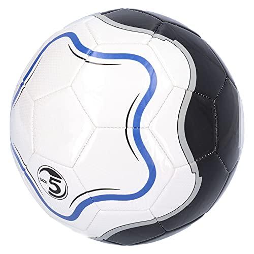 Wosune Balón de fútbol tamaño 5, balón de fútbol al Aire Libre para competición, balón de fútbol Inteligente, tamaño 5 para jóvenes, Entrenamiento de fútbol Profesional para Actividades de Ocio