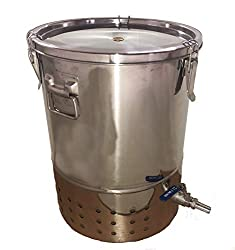 Stainless steel worm composter from Amazon