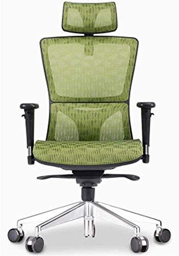 Silla de oficina giratorio ejecutivo Mid-back Malla negra Silla ergonómica de tareas ergonómicas, silla de oficina para discapacitados, silla del personal de la silla de la oficina, ascensor silla gir
