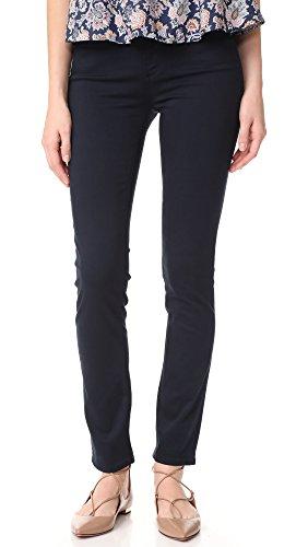 AG Adriano Goldschmied Women's Prima Sateen Cigerette Leg Denim Jean, Midnight Navy, 24