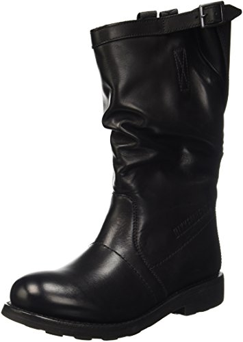 BIKKEMBERGS Damen Vintage 1176 High-Top Schwarz (Black 999) 40 EU
