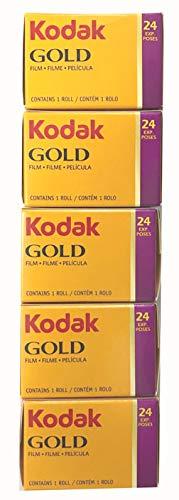Kodak カラーネガフィルム GOLD200 35mm 24枚撮 5本セット