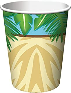 Creative Converting 8 Count Safari Adventure Hot/Cold Cups , 9 oz, Multicolor