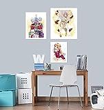 AJ WALLPAPER 3D Sword Art Online Paraguas 2584 Anime Combinar Pared Adhesivo Murales Papel Pintado UK Angelia, Vinilo (autoadhesivo)., Medium
