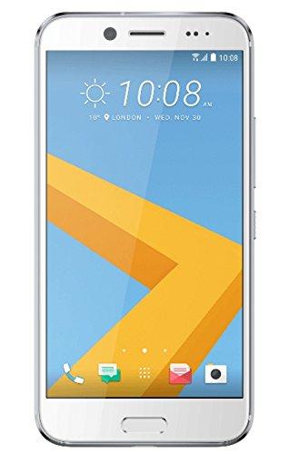 HTC EVO 10 Smartphone (14 cm (5,5 Zoll) Quad HD, 2560 x 1440 Pixel, 16 MP Kamera, 4K Videoaufnahme, 32 GB, Android) opalsilber
