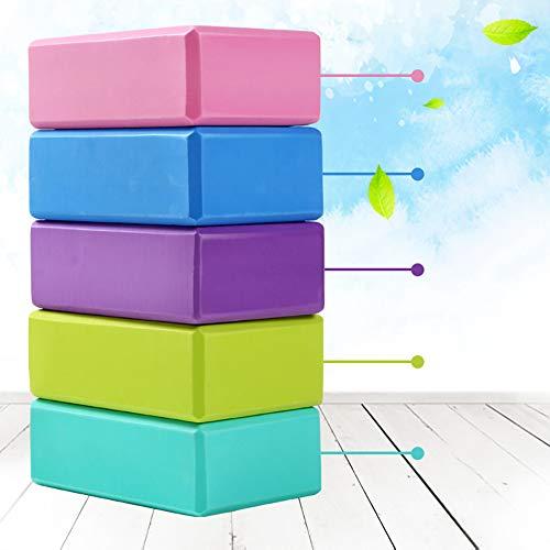 DLTY Yoga baksteen, verdikking, oefening, yoga dance benodigdheden, universeel voor mannen en vrouwen, fitness, lichtgewicht