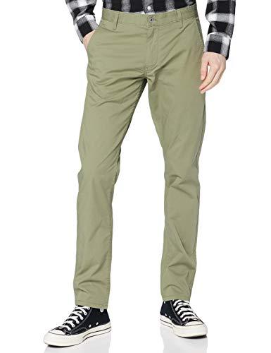 Dockers Herren Alpha Original Khaki Skinny - Lite Pants, Sage Garden, 33 32