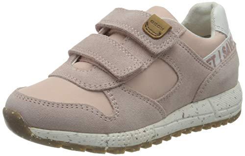 Geox B ALBEN Girl C Sneaker, LT Rose, 27 EU