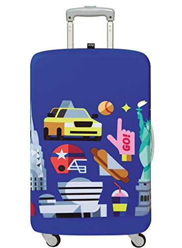 LOQI HEY STUDIO New York Luggage Cover - Kofferhülle