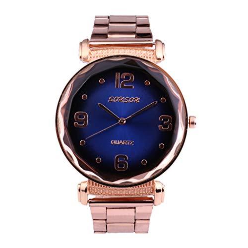 Exquisit Damen Uhren | Luotuo analog Quarzuhr Ø35mm Zifferblatt Rostfreier Stahl Uhrenarmbänder Europa und die Vereinigten Staaten Neu High-End Mode Damenuhr Geburtstagsgeschenk