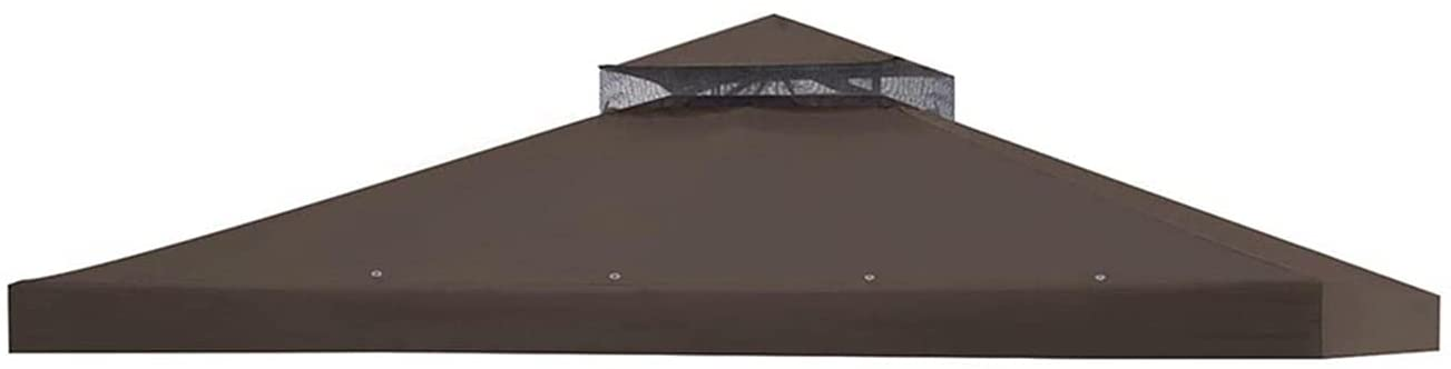 SRAMO 2 Popular brand Tier 11.4'x11.4' Gazebo Canopy Top Quality inspection Replacement Pat Cover