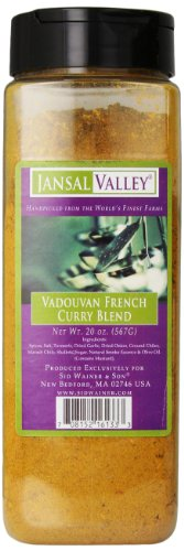 Jansal Valley Vadouvan French Curry Blend, 20 Ounce, 1.25 Pound (Pack of 1)