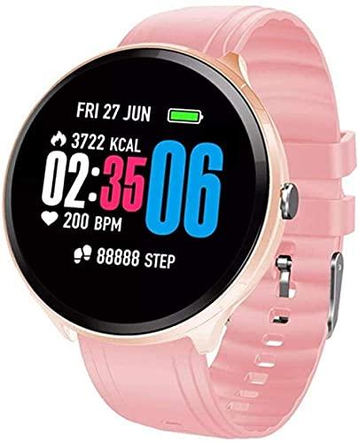1 3In inteligente hombre IP67 impermeable Bluetooth inteligente salud monitoreo pulsera mujeres pulsera para recordar deportes smartwatch puede Android iOS versión