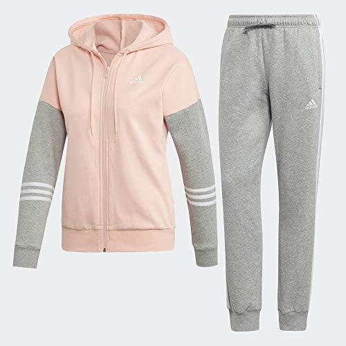 adidas Damen WTS CO Energize Tracksuit, Glow pink/Medium Grey Heather/White, M