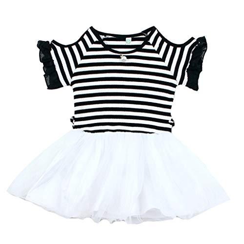 Longra kleding zomer kinderen baby meisjes tutu jurk korte mouwen partyjurk party meisjes jurk