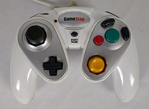 Game Stop Nintendo Game Cube Wired Controller White