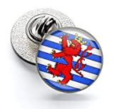 Anstecknadel Magglass Flaggen Belgien Luxemburg