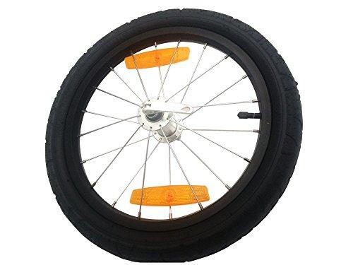 Burley ALU Qr Bicicleta de Paseo, Unisex Adulto, Negro, 16