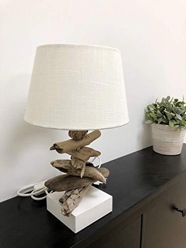 *Lampe aus Treibholz*