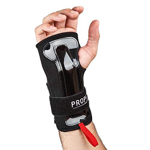 Propro Schützende Hand und Gelenkstütze mit Doppelschiene für Aufprallschutz - Ideal zum Snowboarden, Skateboarding, Inline und Rollschuhlaufen, E- Roller, Tretroller und Motorradsport