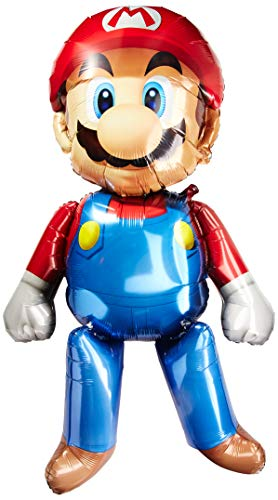 Amscan - Bolsa de regalo para fiesta infantil con temática de Mario Bros